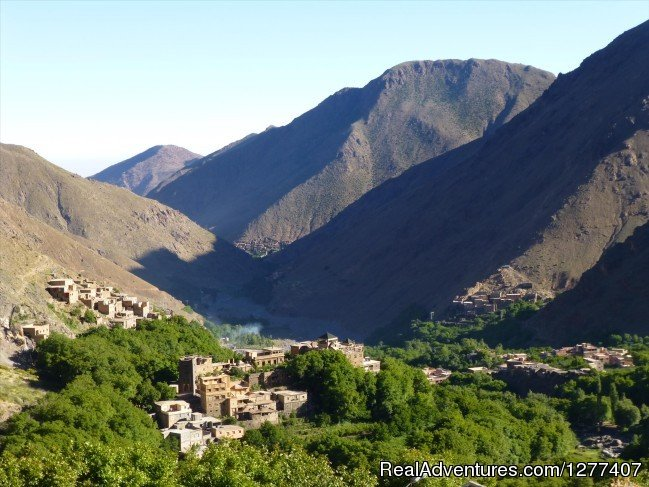 Imlil valley view, Dar Assarou, Guest House in Imlil | Image #16/16 | DAR ASSAROU Guest house in IMLIL