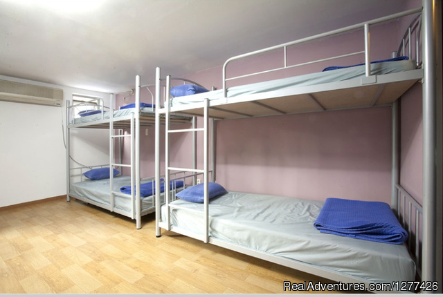 4persons Dorm - Blu Guesthouse?Seoul Korea