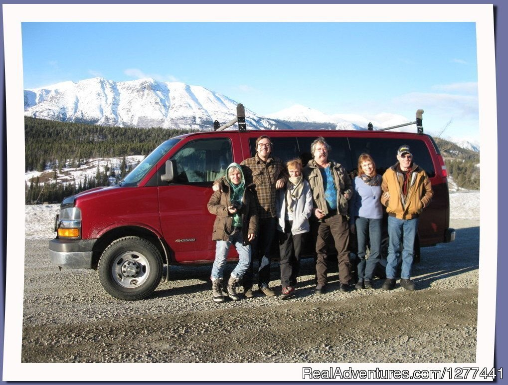 Any group size | Image #2/5 | Professional Transportation Service in the Yukon