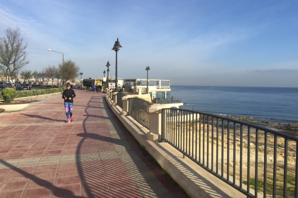 Sliema Seafront Promenade | Image #3/14 | Fitness Holidays in Malta