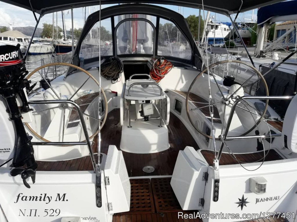 Jeanneau 49 | Image #5/9 | Sail The Ionian Sea The Easy WaySail your dream..