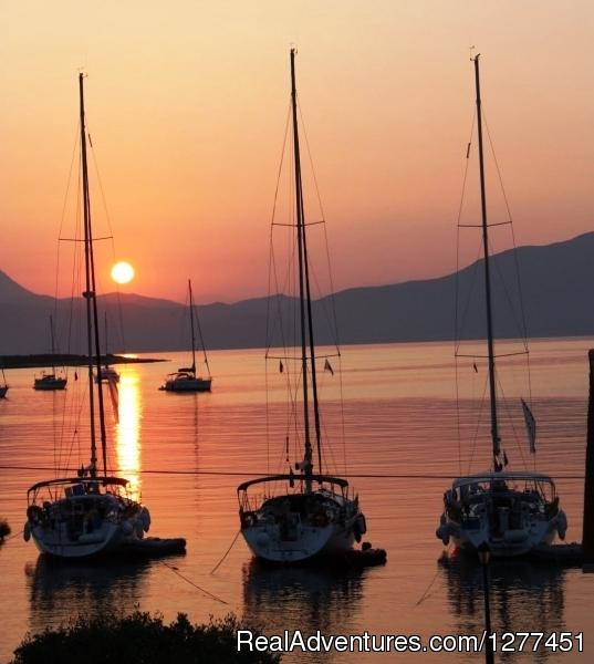 Sail The Ionian Sea The Easy Waysail your dream.. Fiskardo-kefallonia