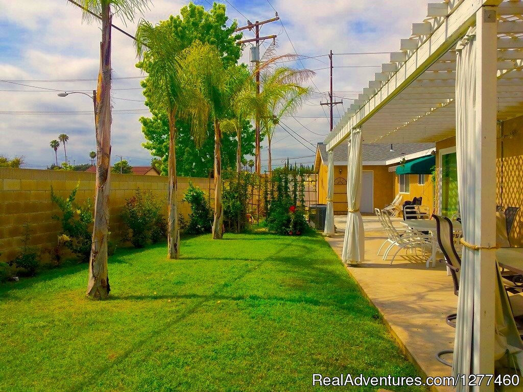 Back Yard | Image #25/25 | Vacation House 5 min. from Disney Land