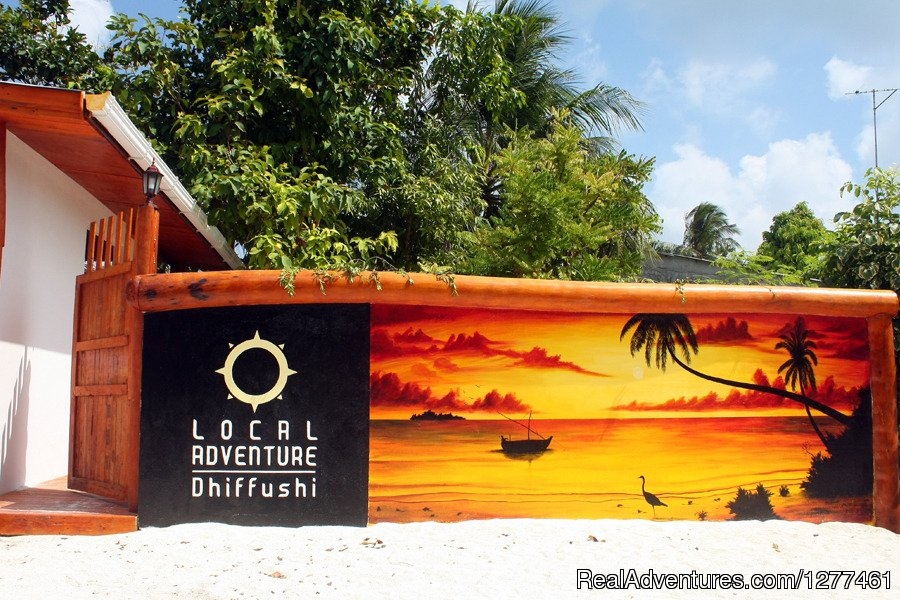 Front | Image #5/7 | Local Adventure at Dhiffushi