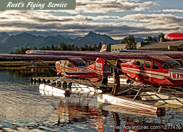 Round-Trip float plane service from Anchorage. - Wilderness Place Lodge
