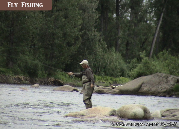 Fly Fishing Alaska - Wilderness Place Lodge