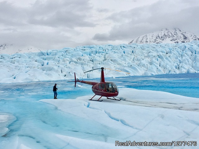 Awesome heli-adventures! - Wilderness Place Lodge