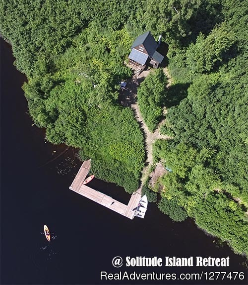 Solitude Island Retreat Outpost Cabin Glamping Experience