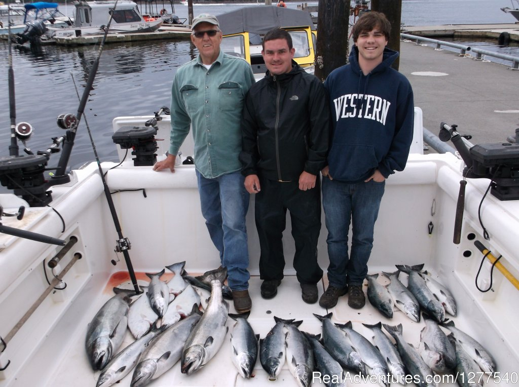 Welcome to First City Charters! We are a small family owned   charter business. I've been running fishing trips in Alaska for more than fifteen years.Our packages include a relaxing and comfortable retreat at your own Southeast Alaska lodge.