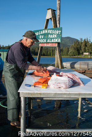 Log Cabin Resort & R.V. Park Klawock, Alaska Fishing Trips