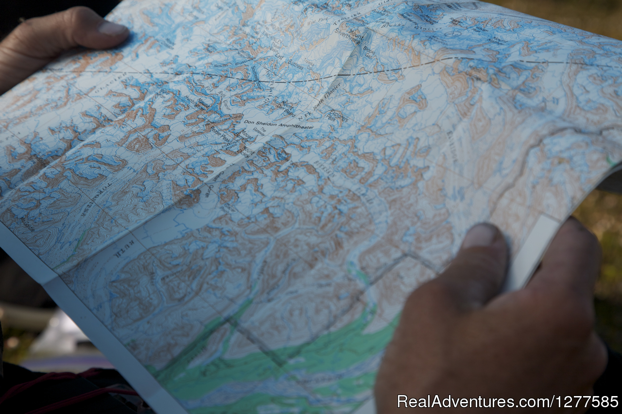 Topographical Map | Image #5/5 | Alaska Alpine Adventures