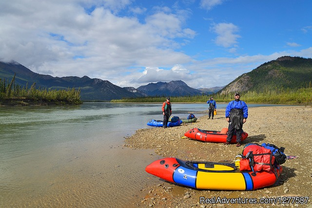 Arrigetch Peaks Backpacking and Packrafting - Expeditions Alaska - Sea Kayaking & Backpacking