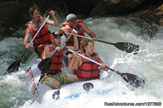 Rafting on the Nantahala River - Paddle Inn Rafting