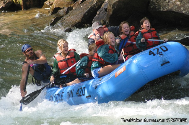 Paddle Inn Rafting: North Carolina Rafting on the Nantahala River