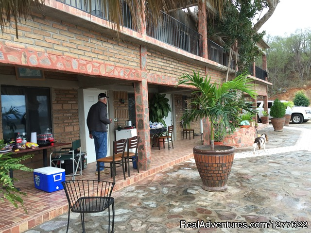 Rooms - Bass fishing El Palmar lake huites