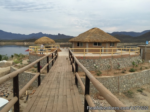 Dinning Room - Bass fishing El Palmar lake huites