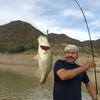 Bass fishing El Palmar lake huites Mexico Reservations
