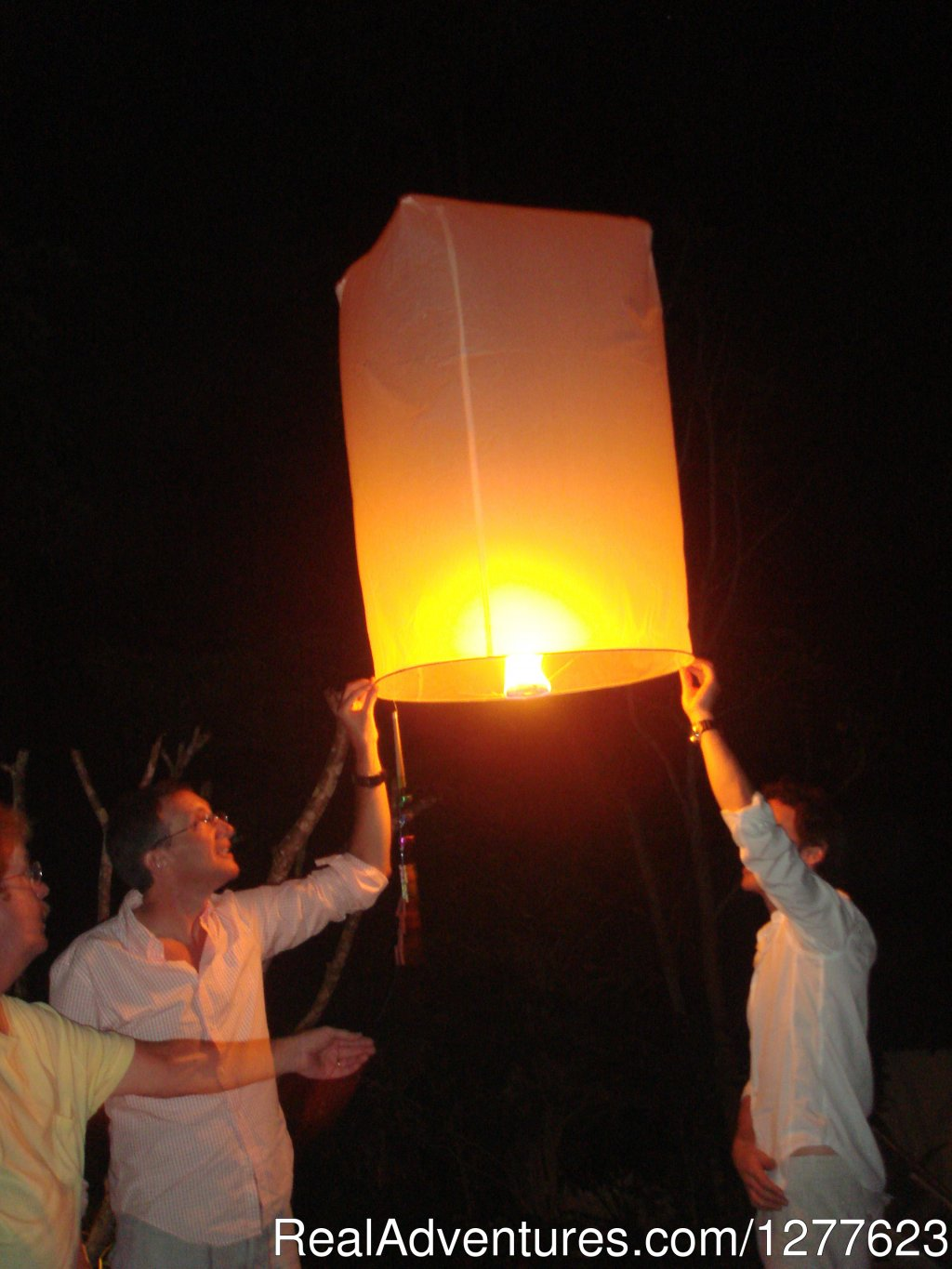 Launching fire balloons for good luck | Image #5/8 | Pedalers Pub & Grille