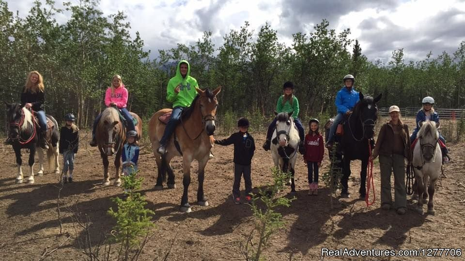 Horse Fun with Kids | Image #3/9 | Denali Horseback Tours
