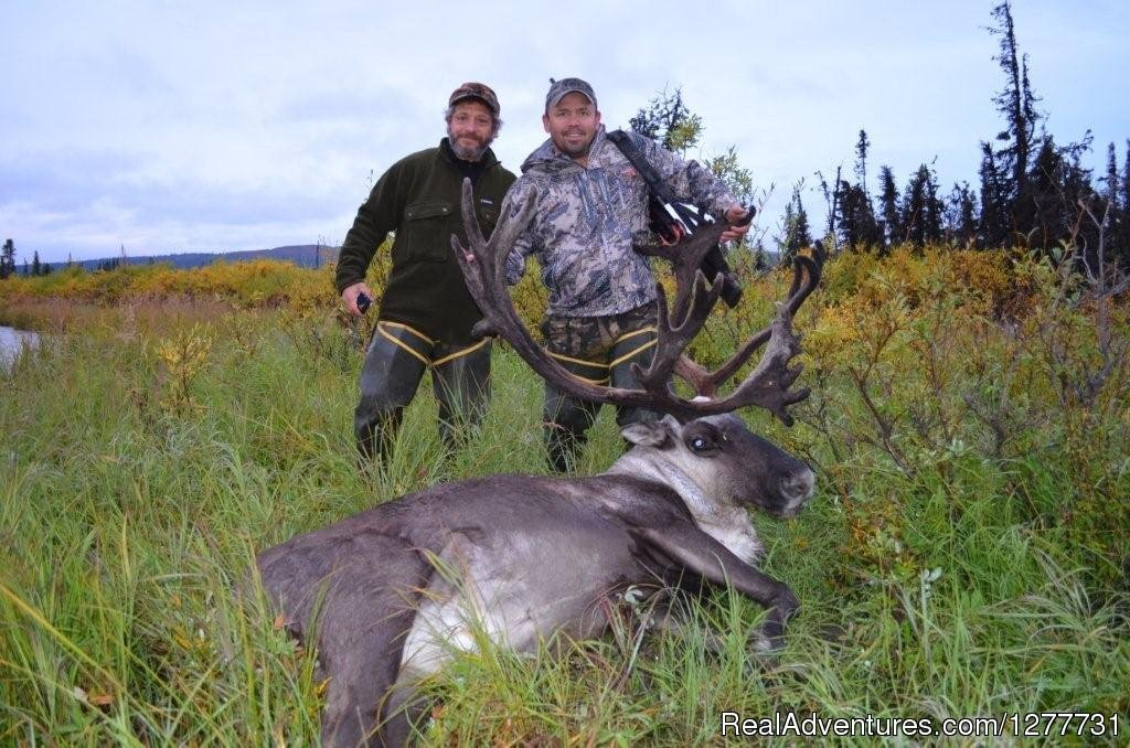 Caribou with Hunter and Guide | Image #6/13 | Stephan Lake Lodge