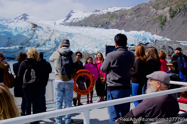Portage Glacier - Glaciers/Wildlife and Anchorage views in one day