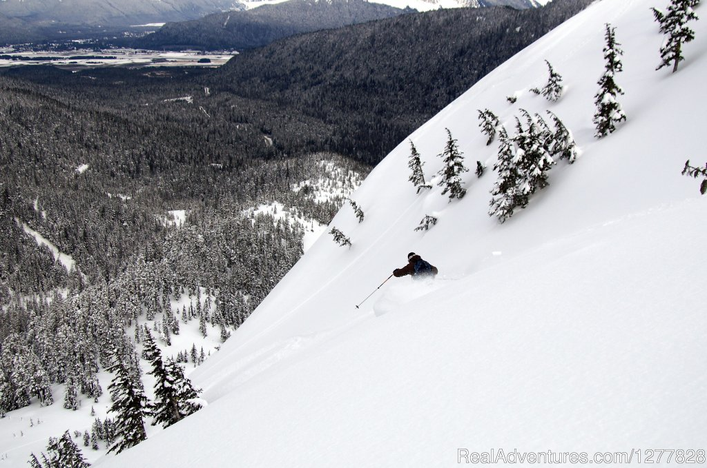 Spanning over 640 skiable acres of breath-taking terrain is Alaska's best kept secret. Just 12 miles from downtown Juneau, Eaglecrest Ski Area is 1,500 vertical feet of the ultimate Alaskan skiing experience.