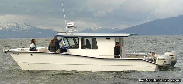 Our boat Kohola - Glacier Wind Charters