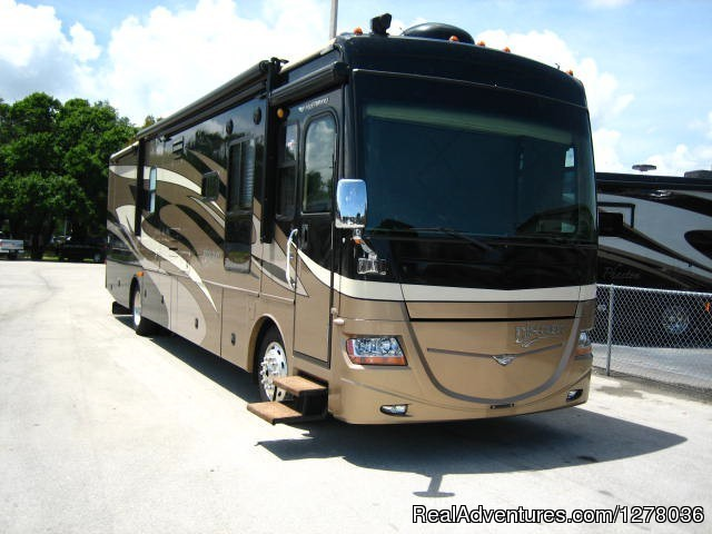Time to escape in luxury. Fort Lauderdale, Florida RV Rentals