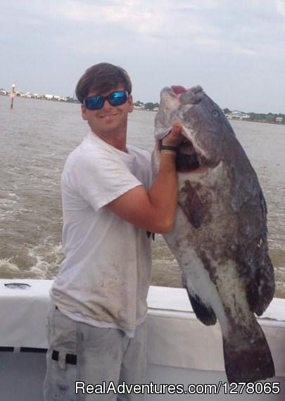 Grouper - Capt Mike's Deep Sea Fishing