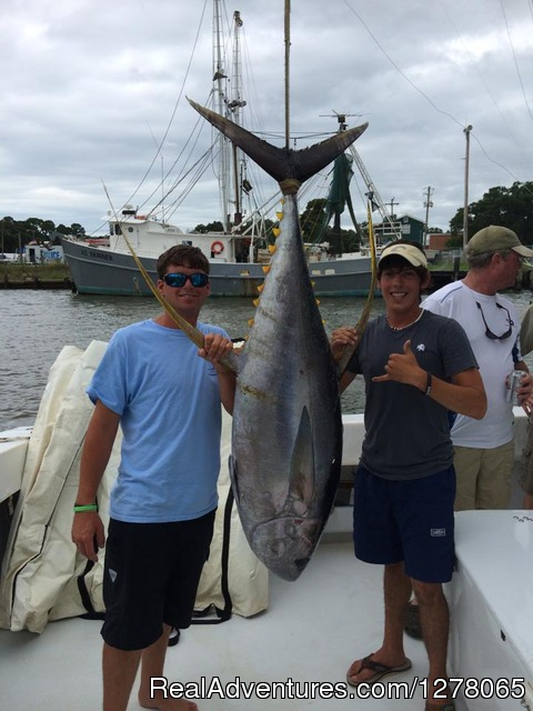 Tuna - Capt Mike's Deep Sea Fishing