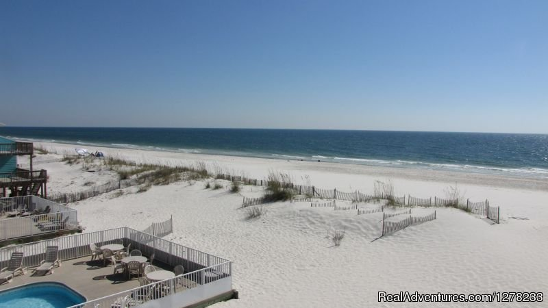 View from the Main Balcony | Image #3/8 | Gulf Front Beach House - Oz Duplex