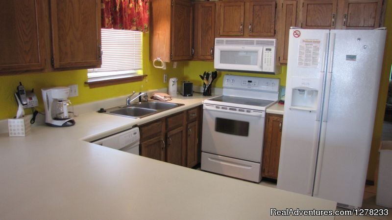 Fully Equipped Modern kitchen (older photo) | Image #6/8 | Gulf Front Beach House - Oz Duplex