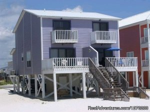 Gulf Front Beach House - Oz Duplex Orange Beach, Alabama Vacation Rentals