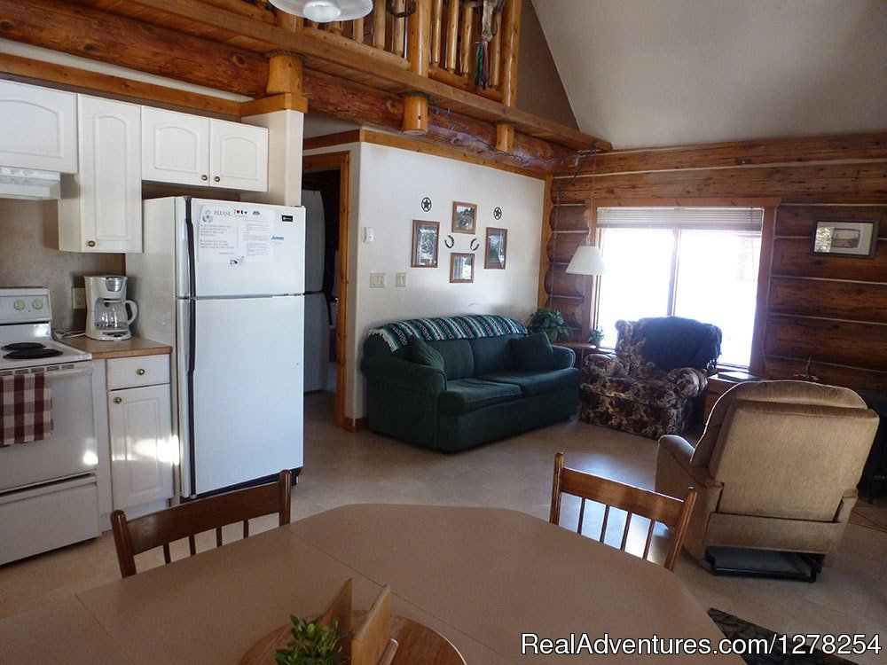 Grandpa's main floor | Image #7/9 | Log cabins in beautiful Kananaskis