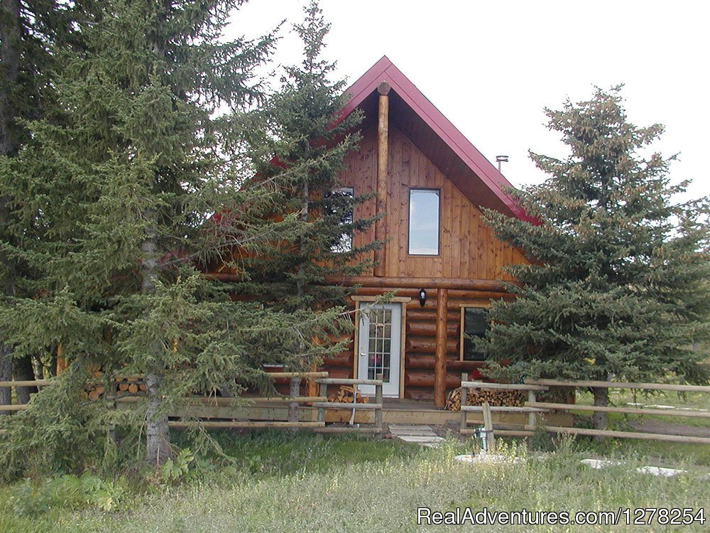 Grandpa's front | Image #6/9 | Log cabins in beautiful Kananaskis