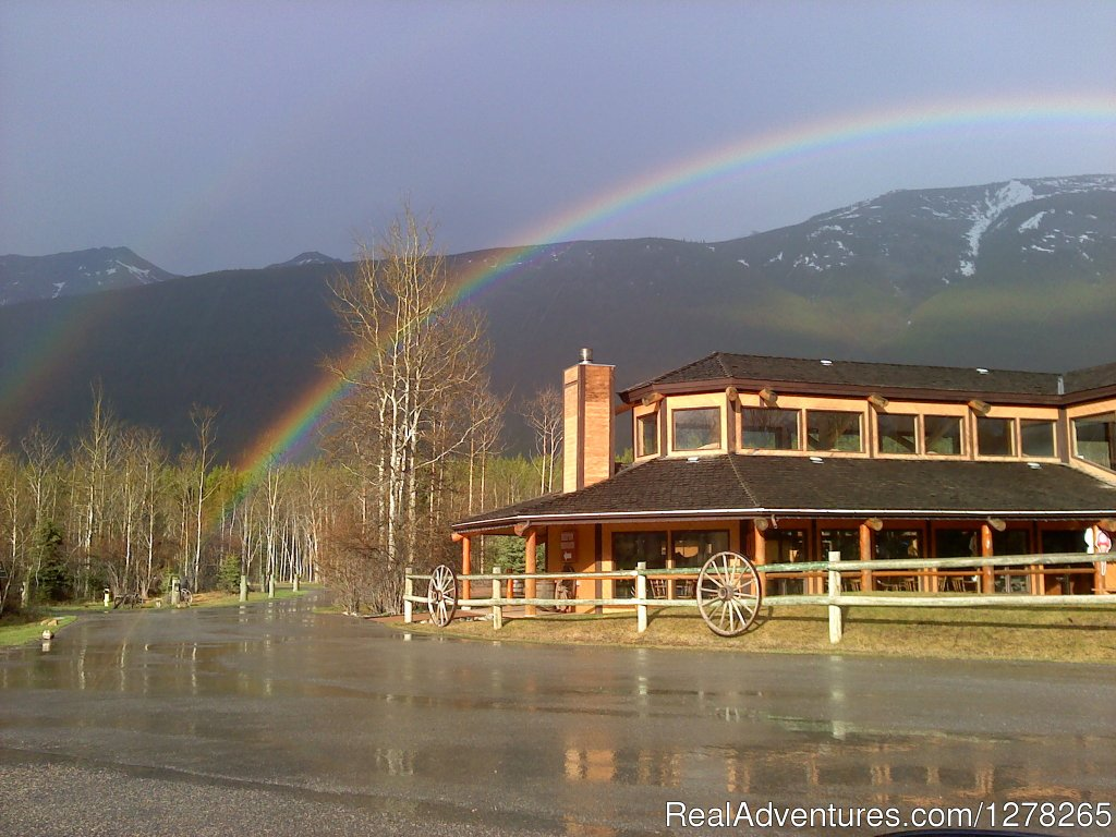Spectacular Double Rainbow over the Restaurant | Image #6/10 | Boundary Ranch Home of the 'Guy on a Buffalo'