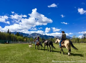 Cowley's Rafter Six Ranch-Trail Riding Specialists Exshaw, Alberta Horseback Riding
