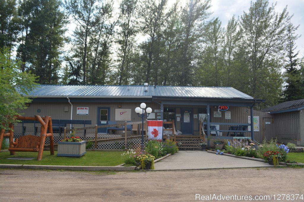 Located right off Highway 43, in Whitecourt, Alberta, Sagitawah RV Park offers 112 sites ranging from 50 AMP full-service to non-service tent sites.