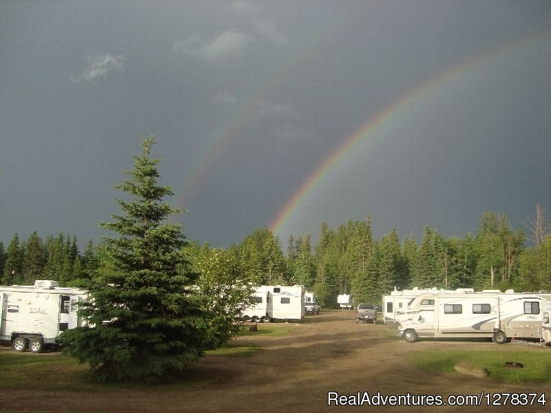 Double Rainbow | Image #5/5 | Sagitawah RV Park & Campground