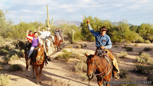 Guided, Scenic Horseback Rides - MacDonald's Ranch