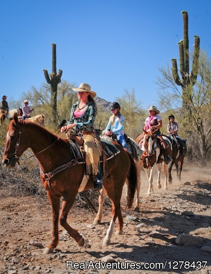 Family Friendly Guided Trail Rides - Corral West Adventures
