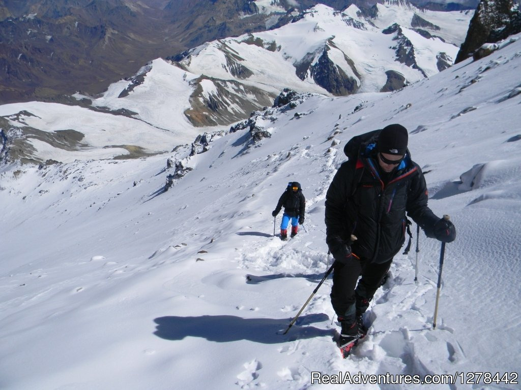 Aconcagua climbing and trekking expeditions and services.
