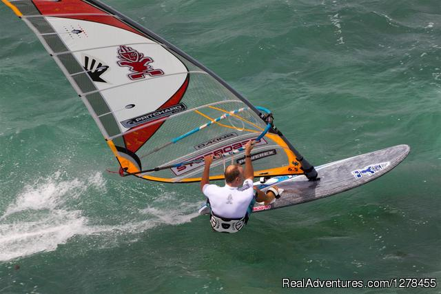 Learn to windsurf with Pritchard Windsurfing - Windsurfing Clinics With Pritchard Windsurfing