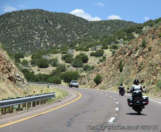 Guided Motorcycle Tours in Arizona & the Southwest