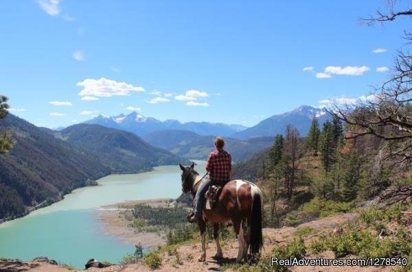 View of Gun Creek Lake | Image #4/11 | Chilcotin Holidays