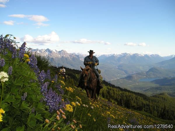Chilcotin Holidays Horseback Riding Gold Bridge, British Columbia
