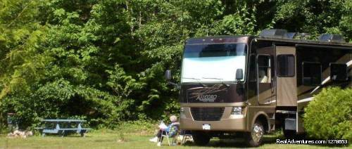 Big Rig Friendly - SunLund By-The-Sea RV Campground & Cabins