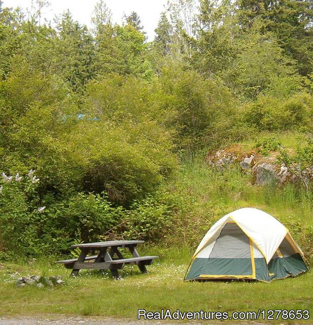 Tent sites - SunLund By-The-Sea RV Campground & Cabins