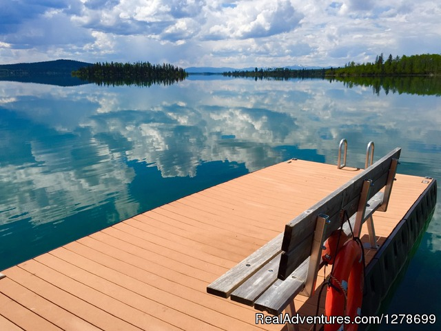 Beautiful Green Lake - The Flying U Ranch