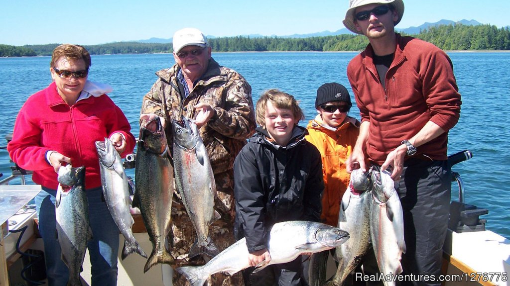 Family Fishing Adventure | Image #5/11 | Wild Pacific Charters